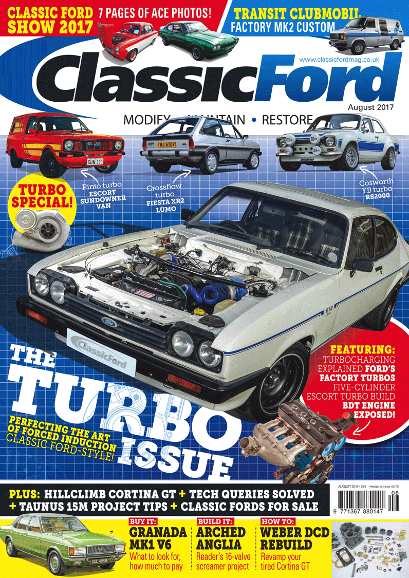 classic ford august 2017 magazine